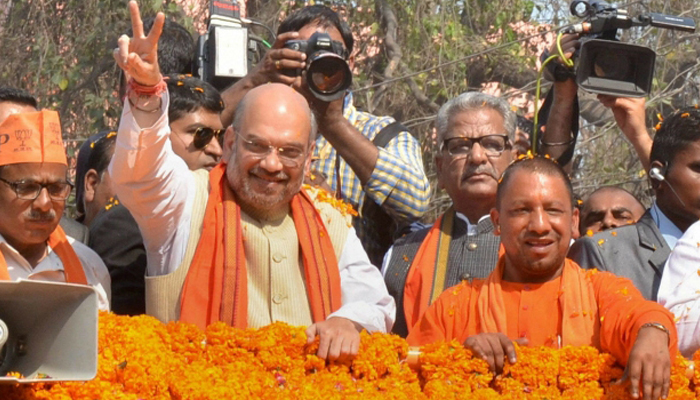 BJP names UP CM Adityanath as its star campaigner for MCD elections