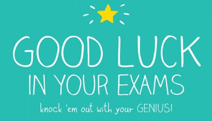 All the best! CBSE X and XII board examinations start from March 9