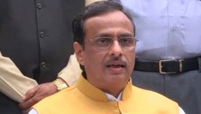 Deputy CM Dinesh Sharma takes stock of board examinations via video conference