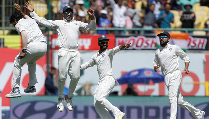 INDvsAUS: Bowlers turn it Indias way; 87 runs required for series victory