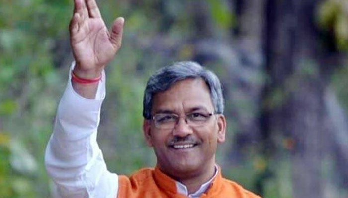 Trivendra Rawat takes oath as the 9th Chief Minister of Uttarakhand