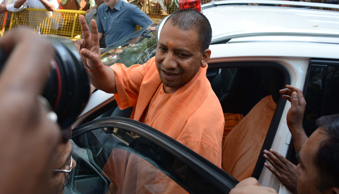 UP secretariat staff in attention mode, Yogi inspects every room