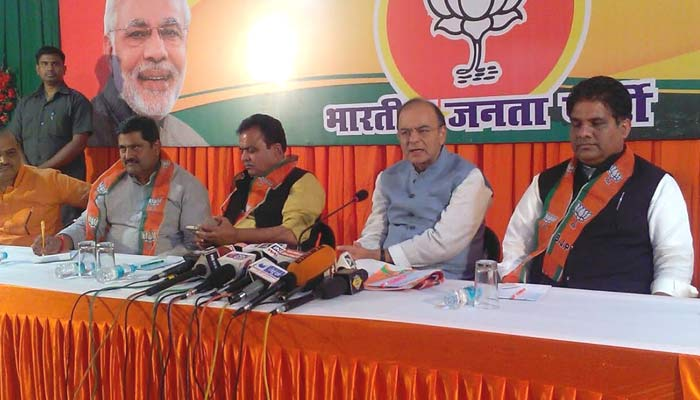 Nationalism' has become a much maligned word, saysArun Jaitley