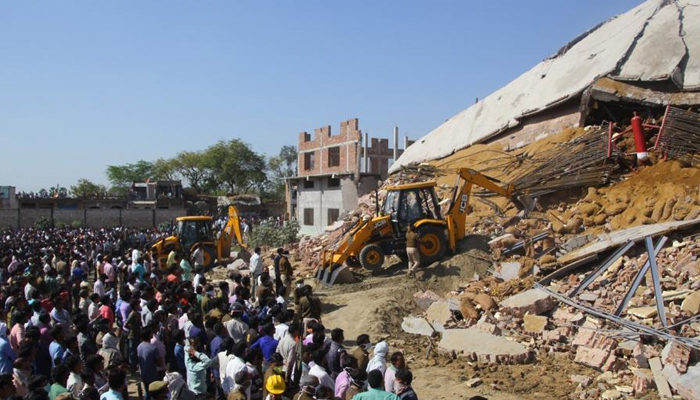 6 died, several trapped as cold storage collapses in Kanpur