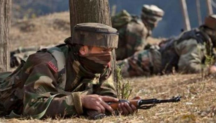 One militant, three stone pelters gunned down in Budgam district