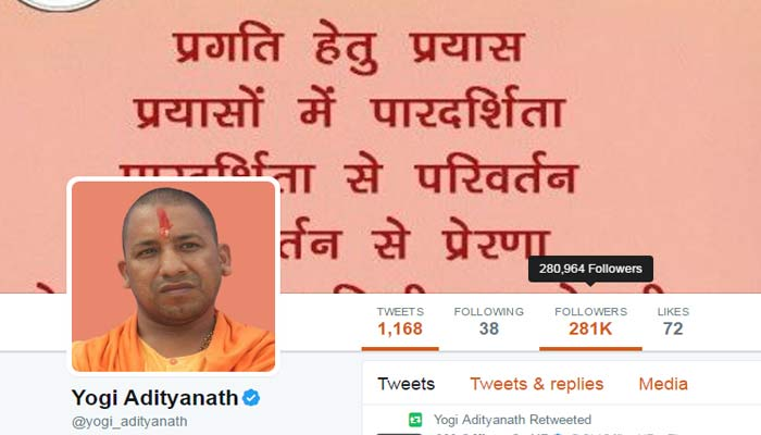 Negligent UP Police turns active after complaint on CMs Twitter page