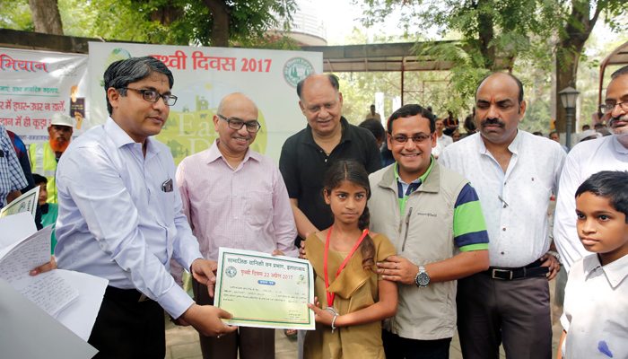 Earth Day celebrated in Allahabad; many pledge to save environment