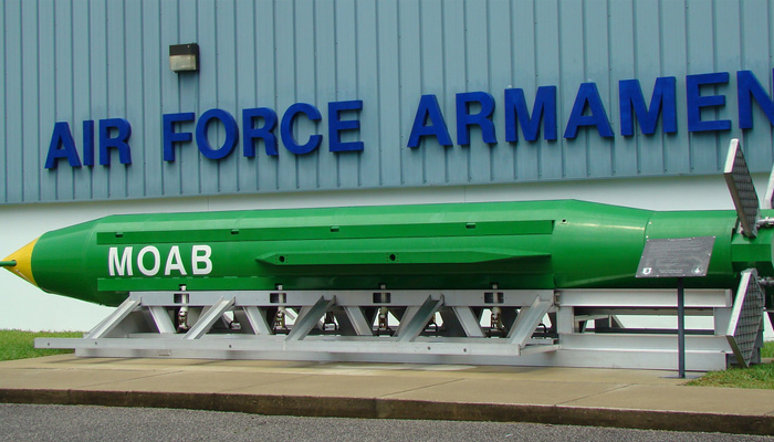 US mother of all bombs kill 36 ISIS terrorists in Afghanistan