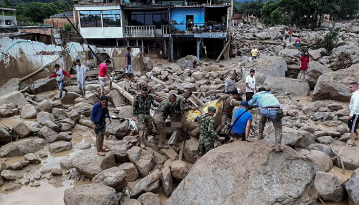 More than 200 people died in water avalanche in Colombia