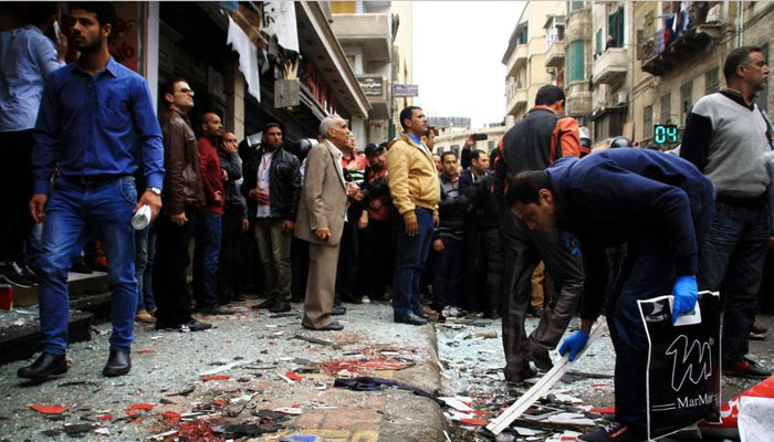 45 killed, 119 injured in ISIS twin bombings at Egypts churches