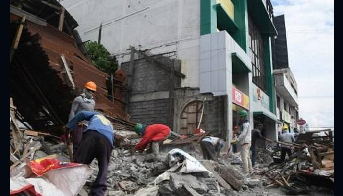 Earthquake of magnitude 7.2 jolts Philippines