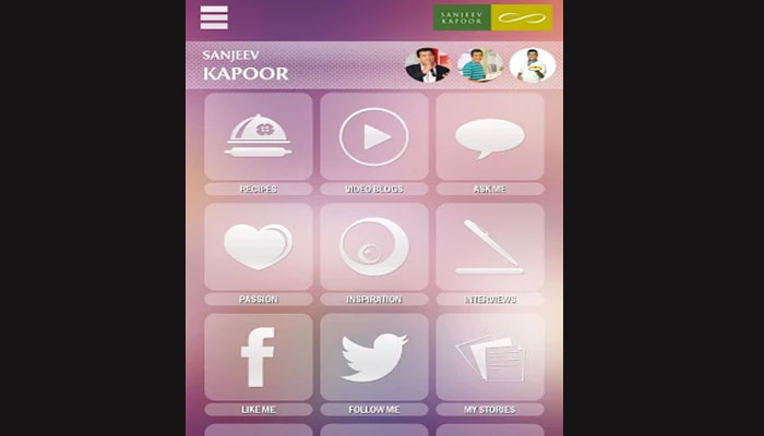 Connoisseur of culinary skills Sanjeev Kapoor launches mobile app EscapeX
