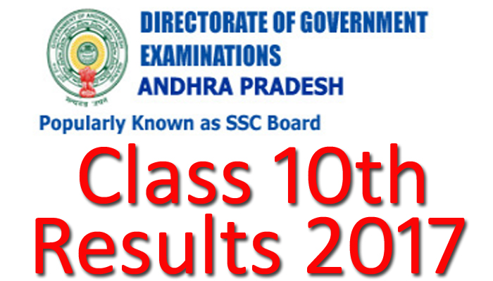AP SSC Class 10th results 2017 declared | Check Now