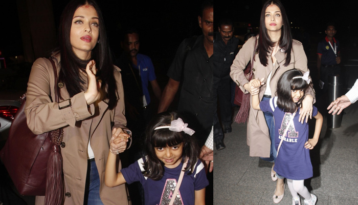 Adorable! Aishwarya Bachchan, daughter Aaradhya leave for Cannes Film Festival