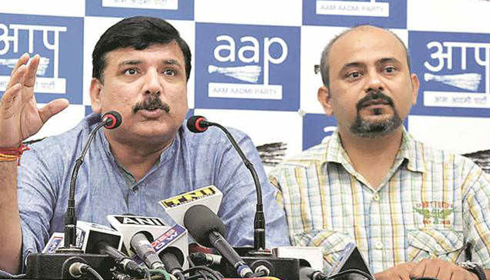 AAP rubbishes Kapil Mishras proofs   Calls them Fake