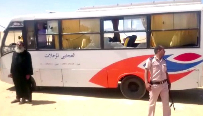 Islamic State claims responsibility for Egypt bus attack
