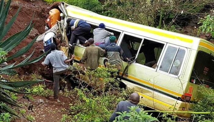 29 children lost their lives in school bus accident in Tanzania