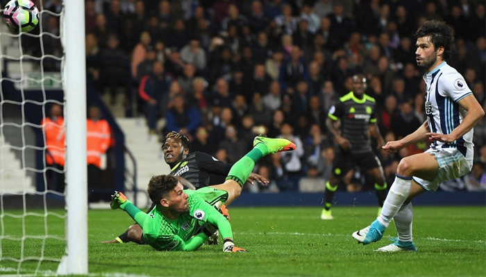 Chelsea beats West Bromwich to clinch EPL title
