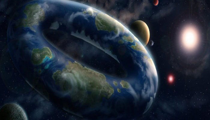 Did Earth form from a donut-shaped planetary object?