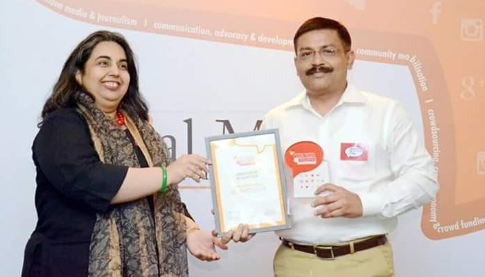 UP Police honoured with social media for empowerment award