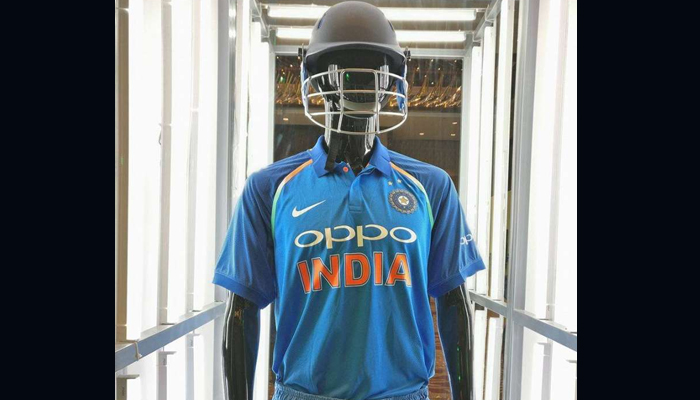 Indian Cricket team gets new jersey ahead of Champions Trophy