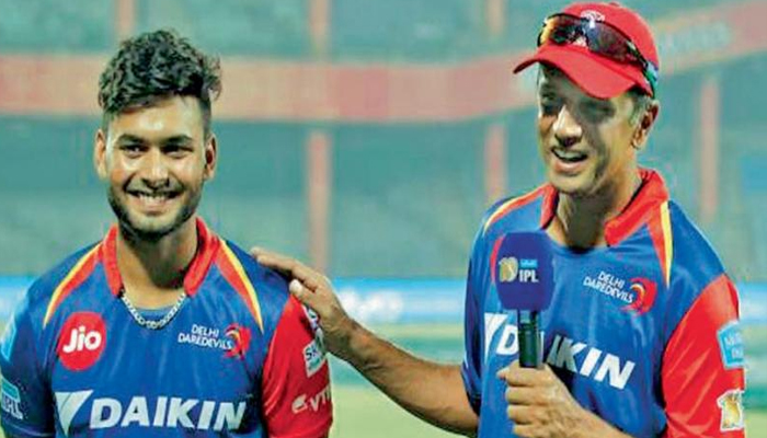 Pant will become one of the pillars of Indian Cricket: Dravid