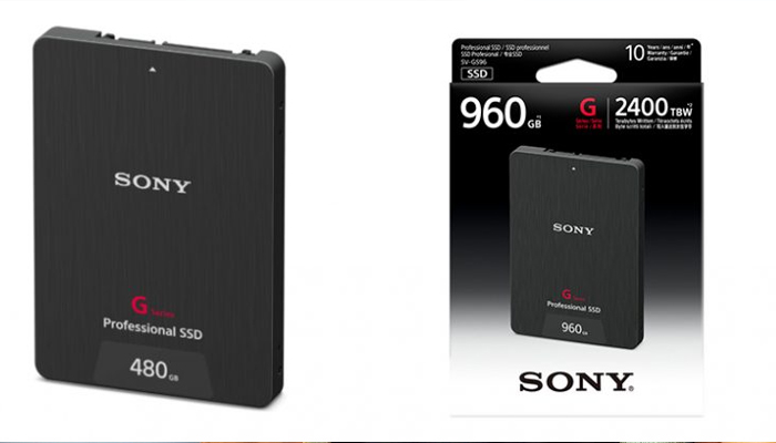 Sony introduces SSDs for video recorders