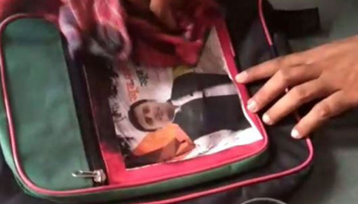 Akhilesh questions BJP over distribution of bags with his picture in Gujarat