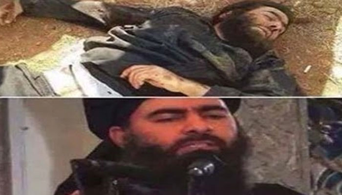 Baghdadis remains disposed of in accordance with law of armed conflict