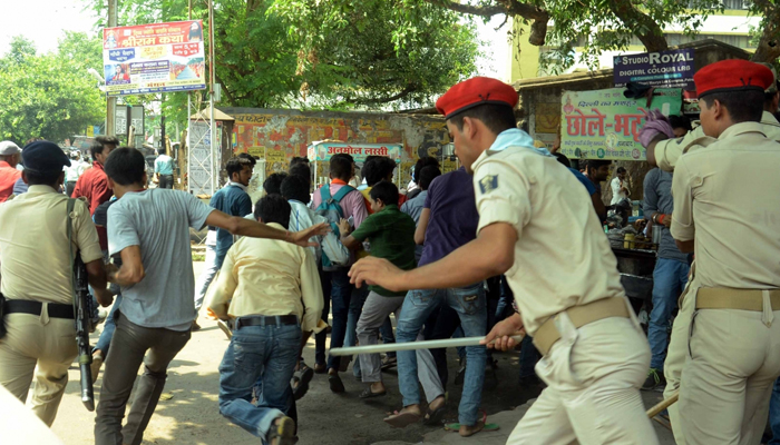 Bihar Board Results: Hundreds of Class 12 students continue protest