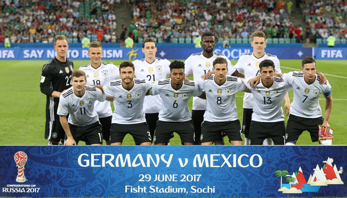 Germany outclasses Mexico to storm into Confederations Cup final