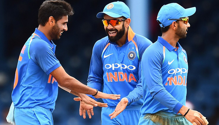 India thump West Indies by 105 runs in 2nd ODI