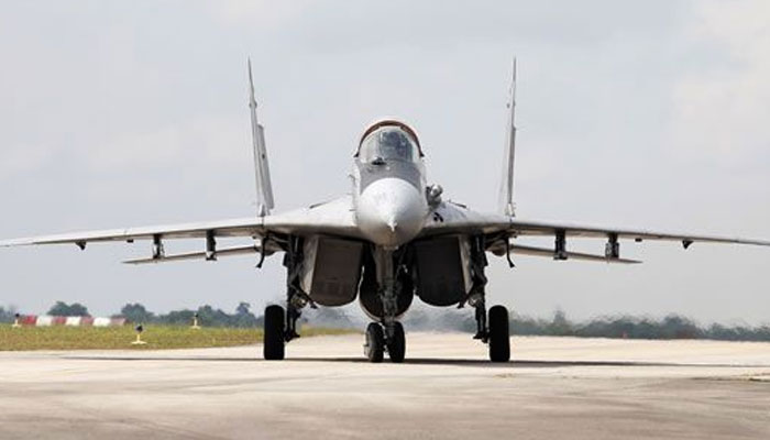 Royal Malaysian Air Force fighter jet crashes   Two pilots killed