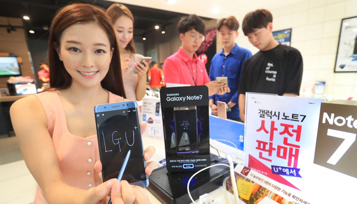 Samsung to start selling controversial Galaxy Note 7 from July 7