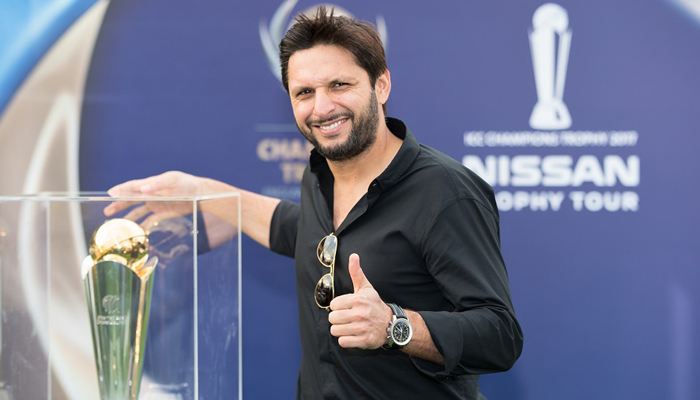 Shahid Afridi appeals India to restart bilateral series with Pak