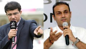 When Sourav Ganguly told Virender Sehwag to mind his language!