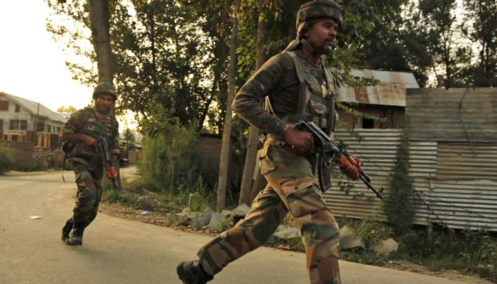 Pulwama: 8 security personnel martyred, 2 terrorists killed