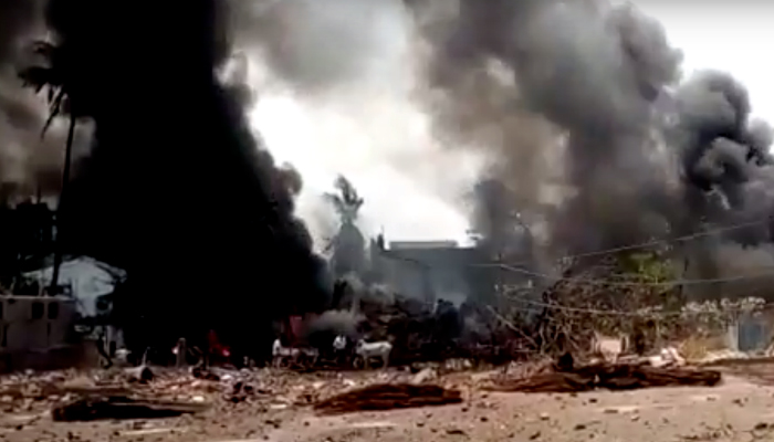 At least 8 killed in China petrochemical plant blast