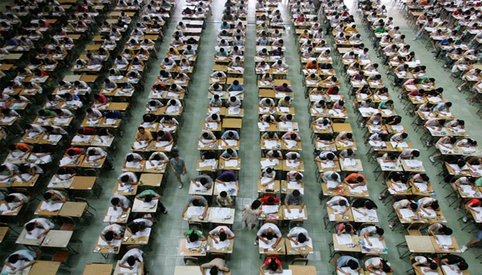 Over 9 mn students to appear for Chinas college entrance exam