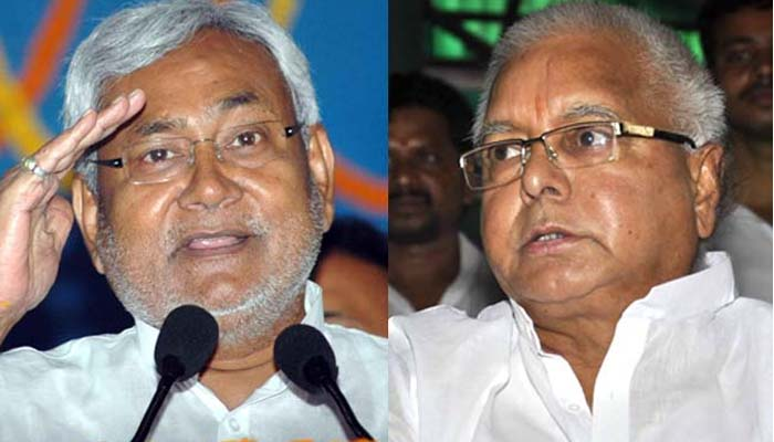 Lalu and Nitish move in different directions on presidential nominee too