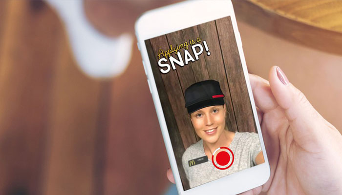 McDonalds to hire US workers via photo sharing app Snapchat