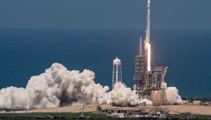 SpaceX launches Bulgarian satellite on reused first stage