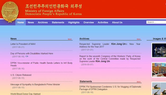 N.Koreas Foreign Ministry launches its own website