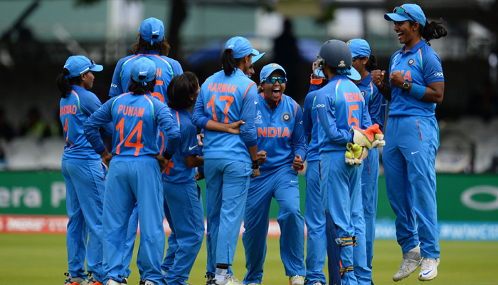 God of Cricket stands by the side of Women in Blue in World Cup final