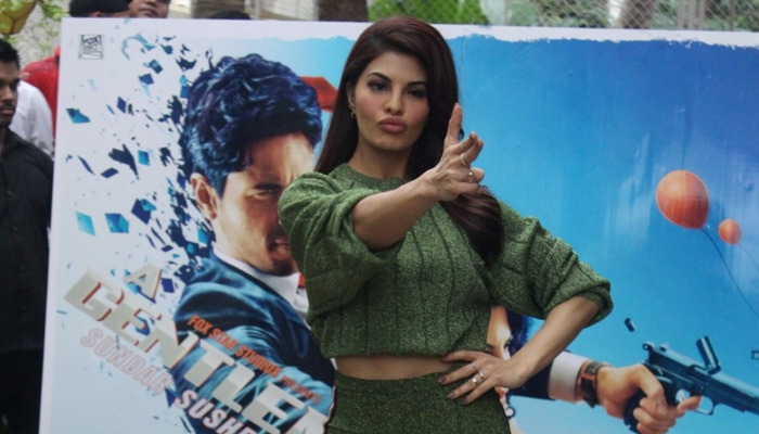 Jacqueline Fernandez, Sidharth during special preview of A Gentleman