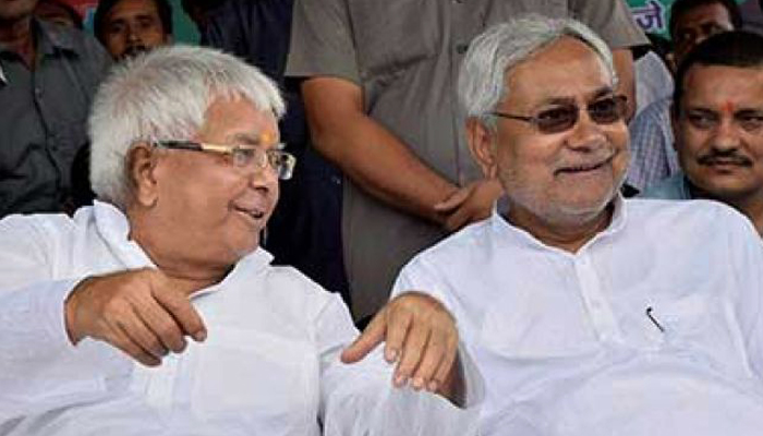 Silence may be golden for Nitish but it is a killer for Lalus critics
