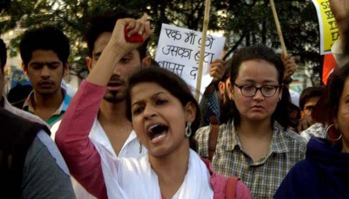 Exclusive   We were not kept in jail with rapists, clarifies student leader Pooja