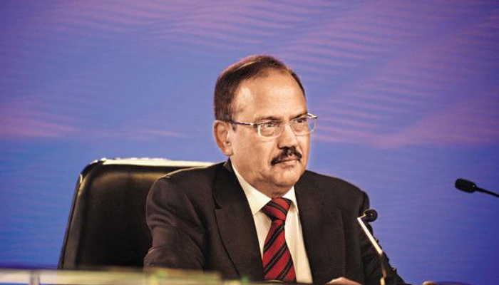 NSA was not present in any political meeting, says Home Ministry