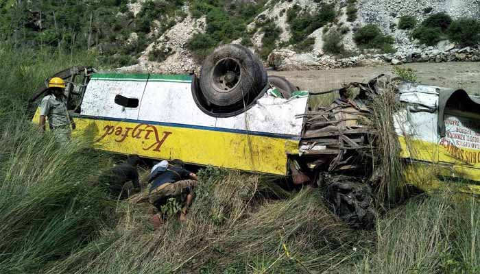 At least 28 killed, 9 injured in Himachal road accident