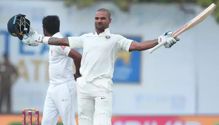 SL vs Ind, 1st Test: Dhawan translates his ODI form in Tests, misses double ton